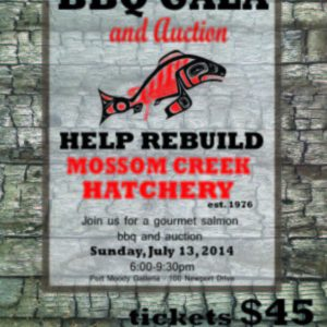 Mossom Creek Salmon BBQ Gala