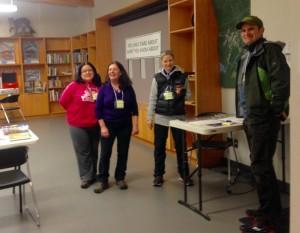 SD43 teachers visit mossom creek
