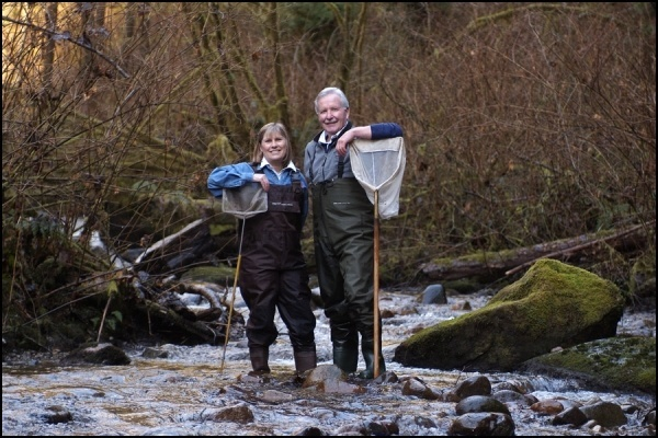 Mossom Creek Hatchery Founders - Rod and Ruth